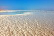 The Dead Sea at coast of Israel