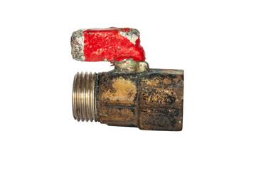 old ball valve