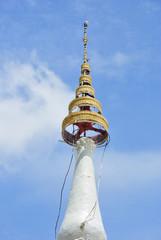 Peak pagoda architecture