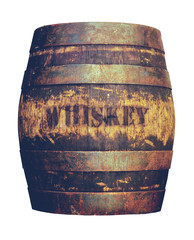 Retro American Whiskey Barrel