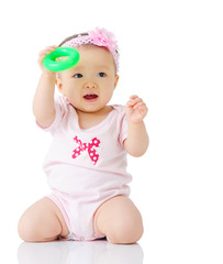 Asian lovely baby girl