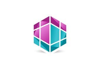 jewelry,cube,logo,hexagon geometry fashion,diamond,luxury stone