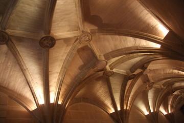 Plafond d'entrée du château de Chenonceau