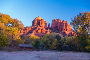 Beautiful Sedona Arizona on a Sunny Autumn Day