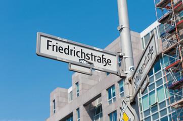 street sign in Berlin