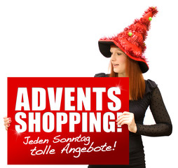 Advents-Shopping!