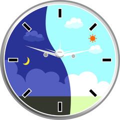 飛行機 時計