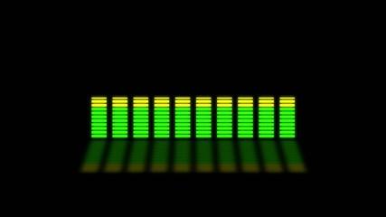 LED Equalizer spectral meter