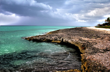 Before storm in  Cuba, Varadero