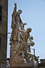 Statua del Padre Santo, Nostra Signora delle Grazie