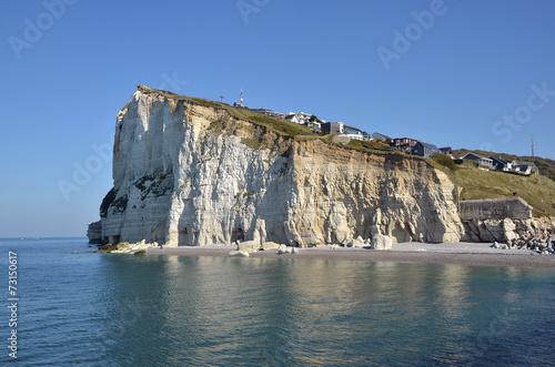 Papiers peints Cote Cliff of Fécamp in France