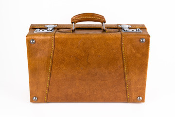 Brauner Retro Koffer
