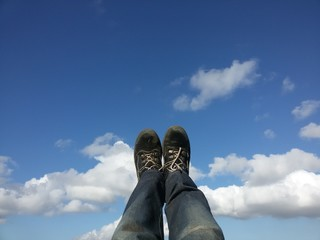 Mie scarpe nel vuoto