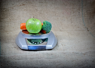 Healthy nutrition - healthy diet