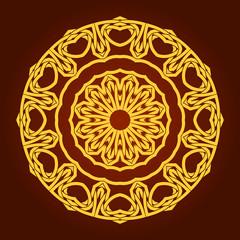 Arabic design- circular border