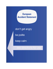 European accident statement