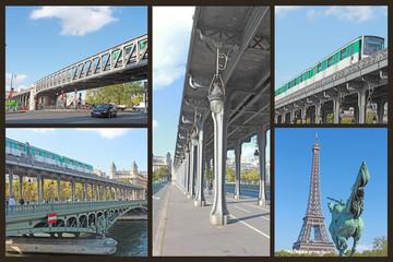 Paris pont Birhakeim