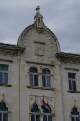 old building in trogir