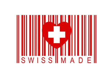 Strichcode Swiss Made