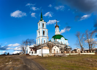 Peter and Paul Church. Built in 1797. Russia