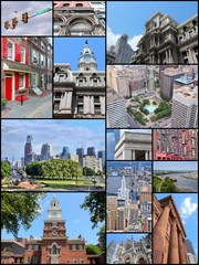 Philadelphia - photo collage