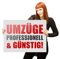 Umzüge professionell & günstig!