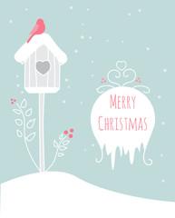 Merry christmas hand-drawn