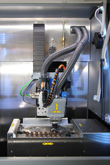 Dental CNC engraver