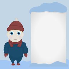 Winter theme child