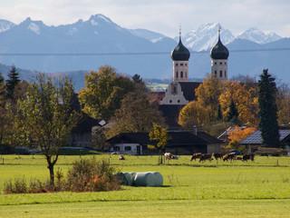 Bayern - Kloster Benediktbeuern