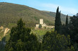 canvas print picture - Rocca minore in Assisi