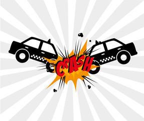 crash comics design