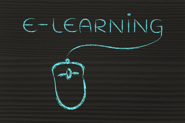e-learning, online courses and web classes