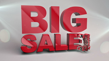 Sale word concept, for shopping, sales, advertising