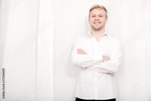 canvas print picture Junger Mann
