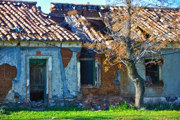 Puertollano, poblado de la mina Asdrúbal, ruinas