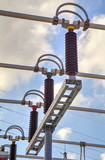 High voltage busbar in modern switchyard