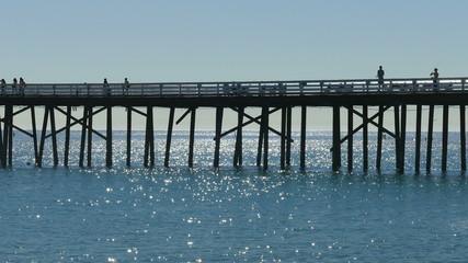 Malibu Pier Telephoto