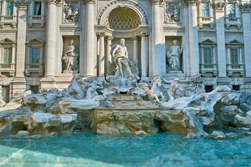 Roma. Fontana di Trevi.