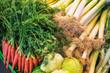 Markt Gemüse  Arrangement