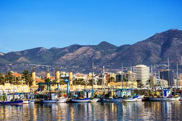 Fischereihafen von Fuengirola, Holiday Resort nahe Malaga