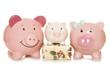 budgeting for christmas piggy banks