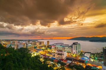 Sunset at Kota Kinabalu City