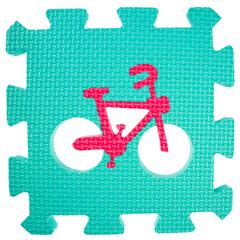 Foam puzzle piece