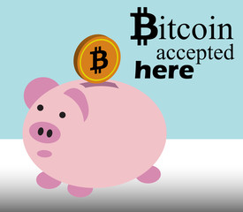 Bitcoin accepted here