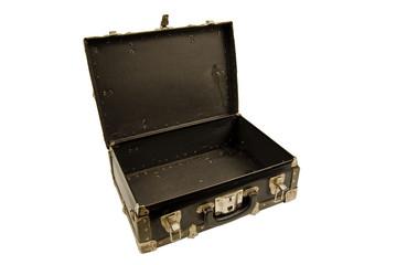 Worn Old Suitcase