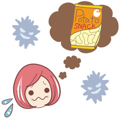 お菓子とダイエット