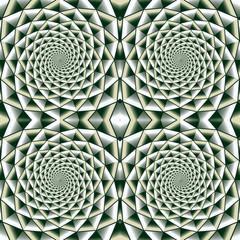 Whirl geometric seamless pattern.