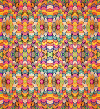 Fototapeta Colorful textile seamless pattern.
