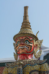Tempelwächter figur Bangkok
